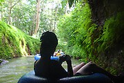 Kauai Backcountry Adventues, mountain tubing, Kauai, Hawaii, (editorial use only)<br />