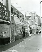 1960 Stores on Hollywood Blvd. near McCadden Pl.