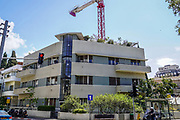 Bauhaus Architecture at 44 Mazeh street, Tel Aviv White City. The White City refers to a collection of over 4,000 buildings built in the Bauhaus or International Style in Tel Aviv from the 1930s by German Jewish architects who emigrated to the British Mandate of Palestine after the rise of the Nazis. Tel Aviv has the largest number of buildings in the Bauhaus/International Style of any city in the world. Preservation, documentation, and exhibitions have brought attention to Tel Aviv's collection of 1930s architecture.