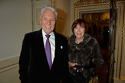 LONDON, ENGLAND 28 NOVEMBER 2016: Sir Peter & Lady Bonfield at a reception to celebrate the publication of The Sovereign Artist by Christopher Le Brun and Wolf Burchard held at the Royal Academy of Art, Piccadilly, London, England. 28 November 2016.