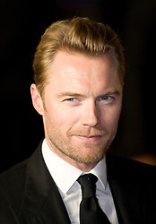 © Licensed to London News Pictures. 11/01/2012. London, UK.  Ronan Keating arriving at the Premier of W.E. at The Odeon, Kensington High Street, London on January 11th, 2012. Madonna directed W.E. which is a drama about the relationship between Wallis Simpson and Edward VIII.  Photo credit : Ben Cawthra/LNP