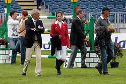Guerdat Philippe (SUI), Sprunger Janika (SUI)<br /> Dublin Horse Show 2012<br /> © Hippo Foto - Beatrice Scudo
