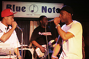 l to r: Hi-Tek and Talib Kweli at Talib Kweli & Hi-Tek: Reflection Eternal produced by Jill Newman Productions held at The Blue Note on March 10, 2009 in New York City
