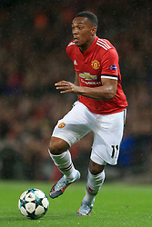 12th September 2017 - UEFA Champions League - Group A - Manchester United v FC Basel - Anthony Martial of Man Utd - Photo: Simon Stacpoole / Offside.