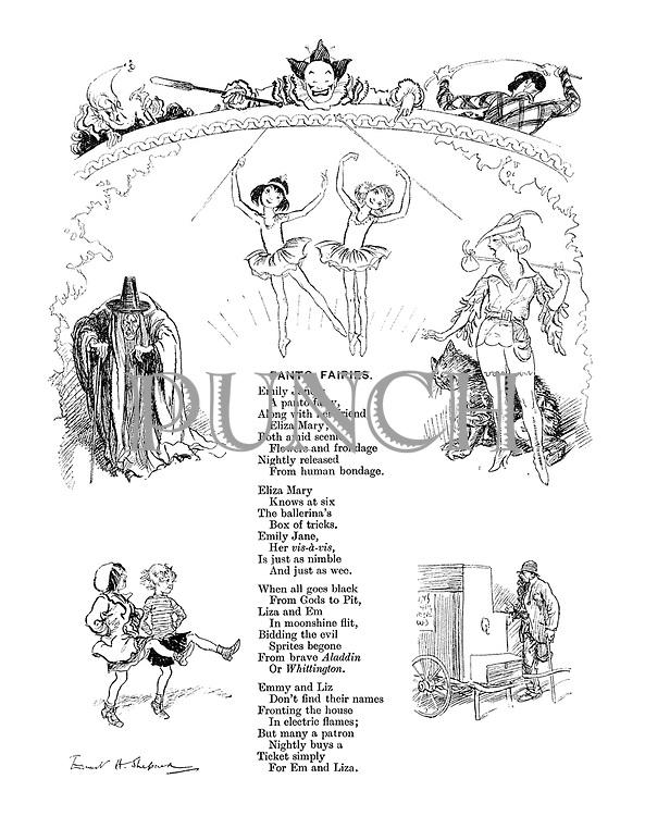 Panto Fairies (illustrated poem)