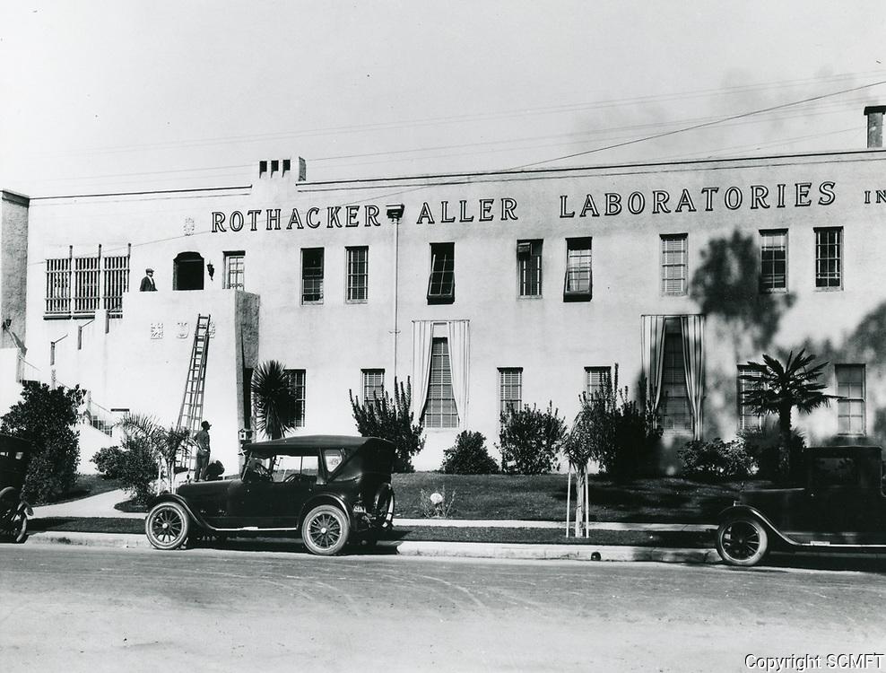 1923 Rothacker Aller Laboratories