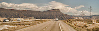 On the road through Grand Junction, Colorado.