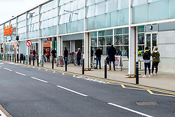 Shoppers are getting used to the new social distancing guidance.  As a nation which has been used to queing for centuries it has not been a problem to give people extra space.