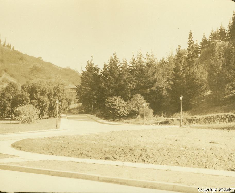 1925 Looking north at Outpost Circle in the Outpost Estates