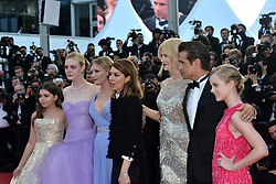 """70th Cannes Film Festival, """"The Beguiled"""" Red Carpet Arrivals. 24 May 2017 Pictured: Colin Farrell, Kirsten Dunst, Elle Fanning, Sofia Coppola, Nicole Kidman, Youree Henley, Angousie Rice and Addison Riecke. Photo credit: KILPIN / MEGA TheMegaAgency.com +1 888 505 6342"""