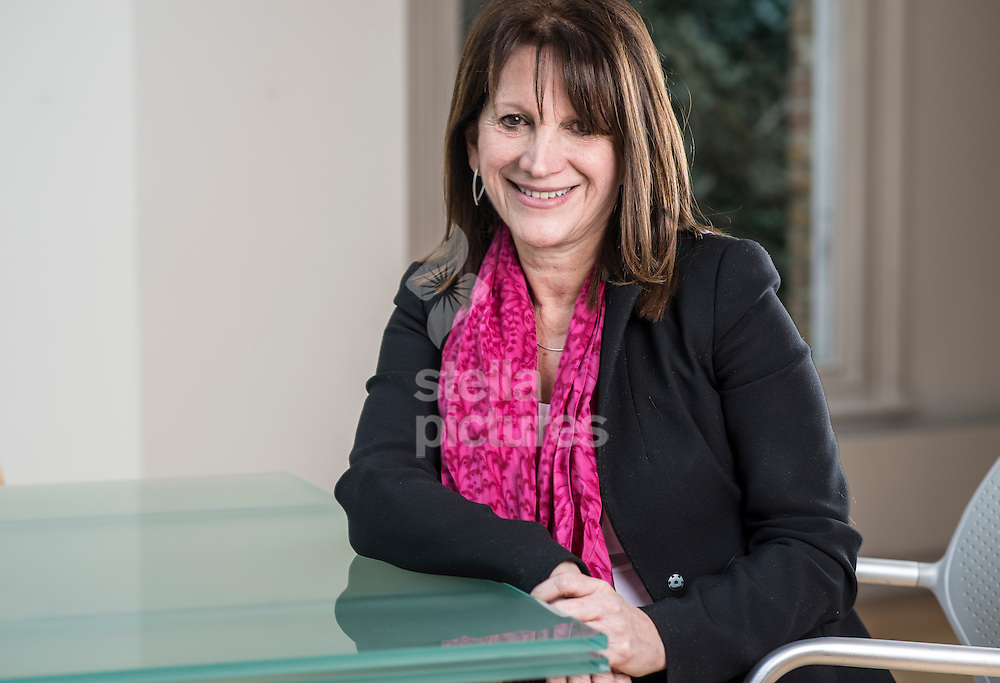 Baroness Lynne Featherstone pictured at her north London home.<br /> A Member of the London Assembly from 2000 to 2005, she was Member of Parliament for Hornsey and Wood Green between 2005 and 2015, before being nominated for a peerage in the Dissolution Peerages List 2015.<br /> She was created Baroness Featherstone, of Highgate in the London Borough of Haringey, on 20 October.<br /> Picture by Daniel Hambury/Stella Pictures Ltd +44 7813 022858<br /> 25/01/2016