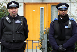 © Licenced to London News Pictures. File photo dated 24/11/13 of boarded up windows in Peckford Place, Brixton, south London, where Aravindan Balakrishnan and his wife Chanda allegedly held three women.<br /> Photo Credit: Susannah Ireland/LNP