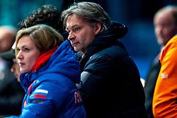 Coach Jeroen Otter during ISU World Cup Finals Shorttrack 2020 on February 15, 2020 in Optisport Sportboulevard Dordrecht.