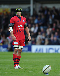 Bristol Rugby Lock Mark Sorenson  - Photo mandatory by-line: Joe Meredith/JMP - Mobile: 07966 386802 - 27/05/2015 - SPORT - Rugby - Worcester - Sixways Stadium - Worcester Warriors v Bristol Rugby - Greene King IPA Championship