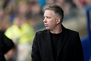 Peterborough United manager Darren Ferguson during the EFL Sky Bet League 1 match between Oxford United and Peterborough United at the Kassam Stadium, Oxford, England on 16 February 2019.