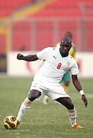 Fotball<br /> Afrika mesterskapet 2008<br /> Foto: DPPI/Digitalsport<br /> NORWAY ONLY<br /> <br /> FOOTBALL - AFRICAN CUP OF NATIONS 2008 - QUALIFYING ROUND - GROUP D - 31/01/2008 - SENEGAL v SOUTH AFRICA - MAMADOU NIANG (SEN)<br /> <br /> Senegal v Sør Afrika