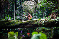 Agustin Aguerreberry at Jardin Botanico, Rio do Janeiro
