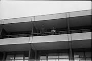 14/07/1972<br /> 07/14/1972<br /> 14 July 1972<br /> Muhammad Ali at Oppermans Country Club Hotel, Kilternan, Co Dublin. Muhammad Ali on the balcony of his room with his Manager Angelo Dundee.