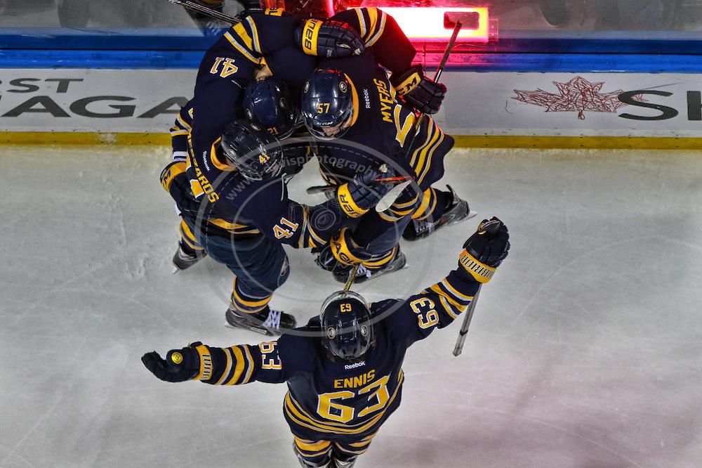 05 November 2014: \b  during an NHL game between the Montreal Canadiens and Buffalo Sabres at the First Niagara Center in Buffalo, NY.