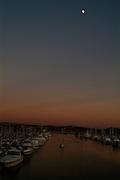 Dana Point Harbor At NIght