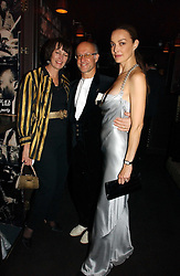 Left to right, ROGER & MONTY SAUL he is head of the fashion house Mulberry and CATHERINE BAILEY at a Black, White and Gold party to celebrate the December 'Party' issue of Harper's Bazaar featuring the 'Going Out' Guide in association with Moet & Chandon  held at Ronnie Scotts, 47 Frith Street, London on 16th November 2006.<br /><br />NON EXCLUSIVE - WORLD RIGHTS