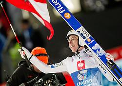 06.01.2014, Paul Ausserleitner Schanze, Bischofshofen, AUT, FIS Ski Sprung Weltcup, 62. Vierschanzentournee, Finale, im Bild Thomas Diethart (AUT) jubelt // Thomas Diethart (AUT) celebrates after Competition of 62nd Four Hills Tournament of FIS Ski Jumping World Cup at the Paul Ausserleitner Schanze, Bischofshofen, Austria on 2014/01/06. EXPA Pictures © 2014, PhotoCredit: EXPA/ JFK