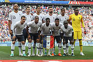 Team of France during the 2018 FIFA World Cup Russia, Group C football match between Denmark and France on June 26, 2018 at Luzhniki Stadium in Moscow, Russia - Photo Thiago Bernardes / FramePhoto / ProSportsImages / DPPI