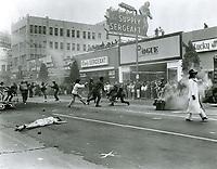 1970 Filming Alex In Wonderland on Hollywood Blvd.
