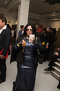 LINDA REBECCA RIOFRIND, Unblock, magazine specialising in art, fashion and culture hosts launch party.  <br /> Contini Art UK, 105-106 New Bond Street, London, 14 June 2016