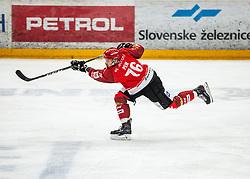 76# Nik Pem of Jesenice during ice hockey match between HK SIJ Acroni Jesenice and Asiago Hockey in Round #3 of Alps Hockey League 2018/19 , on September 22, 2018 in Podmezakla hall , Jesenice, Slovenia. Photo by Urban Meglic / Sportida