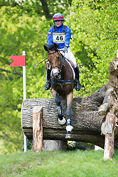 Wettstein Nicola, (ECU), Nadeville Merze<br /> Cross Country<br /> Mitsubishi Motors Badminton Horse Trials - Badminton 2015<br /> © Hippo Foto - Jon Stroud<br /> 09/05/15
