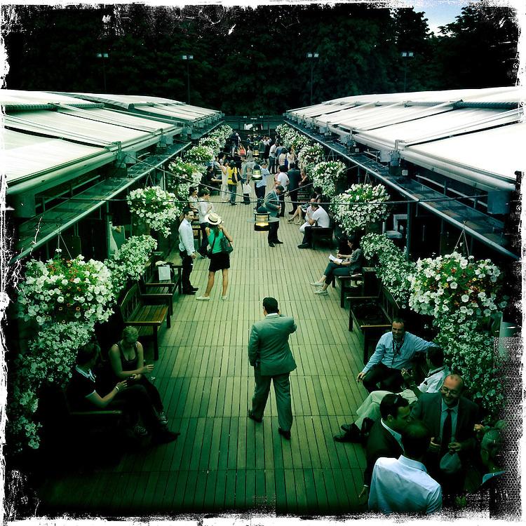 Roland Garros. Paris, France. May 30th 2012.Le Village (VIP area)