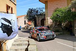 April 7, 2018 - Corse, France - CORSICA Linea - TOUR DE CORSE 2018 Nicolas CIAMIN, Thibault DE LA HAYE HYUNDAI i20 R5 (Credit Image: © Panoramic via ZUMA Press)