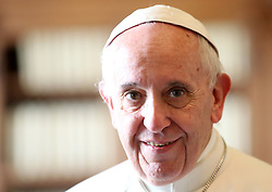 Pope Francis in the private library at the Apostolic Palace on December 17, 2016 the day he turns 80. Photo by ABACAPRESS.COM  | 575580_008 Rome Vatican Vatican (or Holy See)