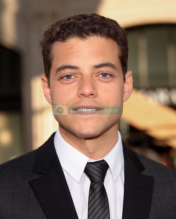 June 27, 2011 - Hollywood, California, U.S. - RAMI MALEK arrives for the premiere of the film 'Larry Crowne' at the Chinese theater. (Credit Image: © Lisa O'Connor/ZUMAPRESS.com)