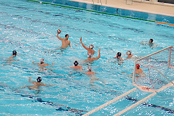 Bristol Central Water Polo play a championship game against Great Britain U19 - Mandatory byline: Dougie Allward/JMP - 05/03/2016 - Water Polo - Hengrove Park Leisure Centre - Bristol, England - Bristol Central Water Polo v Great Britain U19 - Championship Water Polo