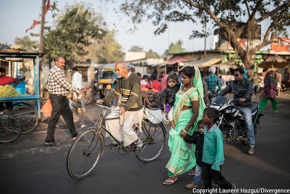 27022019. INDE. BIHAR. La caravane de la paix Karwan-e-Mohabbat. ARARIA. Conférence de presse de Karwan pour raconter les cas de violences et les récits qu'ils ont recolté dans le Bihar.