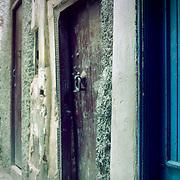 Doorways in the medina, Marrakech, Morocco (November 2006)