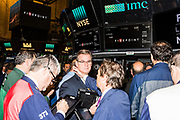 New York Stock Exchange floor, May of 2017.