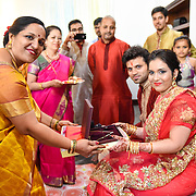 Ragini and Guarav Engagement Party 2016