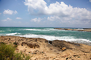 Coastal Nature reserve at Habonim Beach, Israel