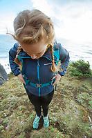Oregon Coast Trail. Oswald West State Park, OR