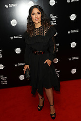 June 1, 2017 - London, London, United Kingdom - Image licensed to i-Images Picture Agency. 01/06/2017. London, United Kingdom. Salma Hayak arriving at the Beatriz at Dinner premiere on the opening night of the ..Sundance Film Festival in London.  Picture by Stephen Lock / i-Images (Credit Image: © Stephen Lock/i-Images via ZUMA Press)