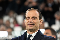 March 8, 2019 - Turin, Piedmont/Turin, Italy - The head coach of Juventus Massimiliano Allegri during the Seria A Football Match: Juventus vs Udinese. Juventus won 4-1 at Allianz Stadium in Turin 8th march 2019 (Credit Image: © Alberto Gandolfo/Pacific Press via ZUMA Wire)