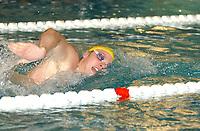 NM svømming senior/05032004/ Grottebadet i Harstad/Waldemar B. Tjomsaas Kristiansand SA/400m fri herrer forsøk/<br /> FOTO: KAJA BAARDSEN/DIGITALSPORT