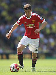 Ander Herrera of Manchester United in action - Mandatory by-line: Jack Phillips/JMP - 07/05/2016 - FOOTBALL - Carrow Road - Norwich, England - Norwich City v Manchester United - Barclays Premier League