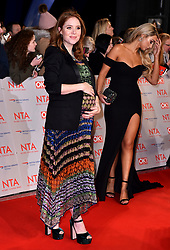 Angela Scanlon attending the National Television Awards 2018 held at the O2 Arena, London. PRESS ASSOCIATION Photo. Picture date: Tuesday January 23, 2018. See PA story SHOWBIZ NTAs. Photo credit should read: Matt Crossick/PA Wire