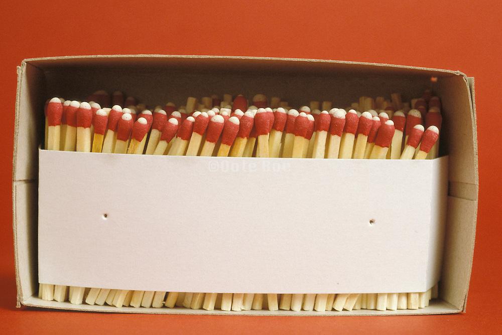 box full of matches