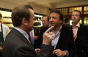 Pietro Beretta and Rocco Forte. Charles Finch and Dr. Franco Beretta host launch of Beretta stor at 36 St. James St. London. 10  January 2006. ONE TIME USE ONLY - DO NOT ARCHIVE  © Copyright Photograph by Dafydd Jones 66 Stockwell Park Rd. London SW9 0DA Tel 020 7733 0108 www.dafjones.com