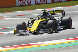 May 11, 2019 - Barcelona, Catalonia, Spain - Renault driver Nico Hulkenberg (27) of Germany during F1 Grand Prix qualifying celebrated at Circuit of Barcelona 11th May 2019 in Barcelona, Spain. (Credit Image: © Mikel Trigueros/NurPhoto via ZUMA Press)